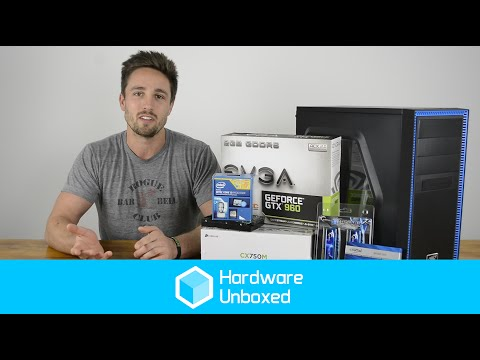 Entry Level Gaming PC: $800 Budget - Build. Benchmark and Parts Review - JUNE 2015