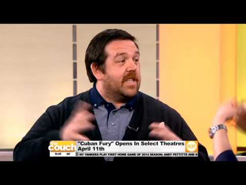 Nick Frost Talks