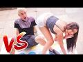 MENINAS vs MENINOS : DESAFIO DO TWISTER !!!