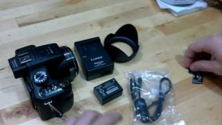 Panasonic Lumix FZ150 (Retail) Unbox, Overview