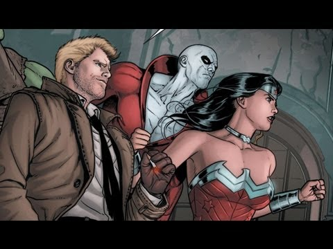 Trinity War Part 3: New Teams For New Threats! (justice League Dark #22 Review) video