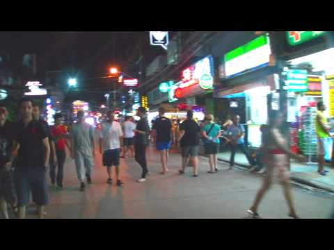 [Bangla Road Night Walk] Phuket,Thailand