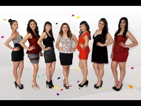 Candidatas a Reina de la Feria Regional de Salinas 2014