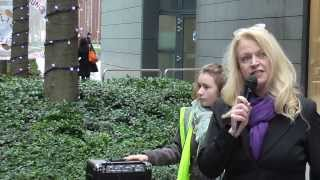 The ATOS/WCA protest in London