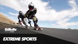 Louis Pilloni's guide to Downhill Skateboarding | Gillette World Sport