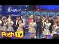 "Push TV: J-pop group AKB48 performs on ""It's Showtime"""