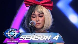 Putri Ayu Tak Percaya, Suara SIA Sangat Mempesona [KALI KEDUA ] - I Can See Your Voice (7/1)
