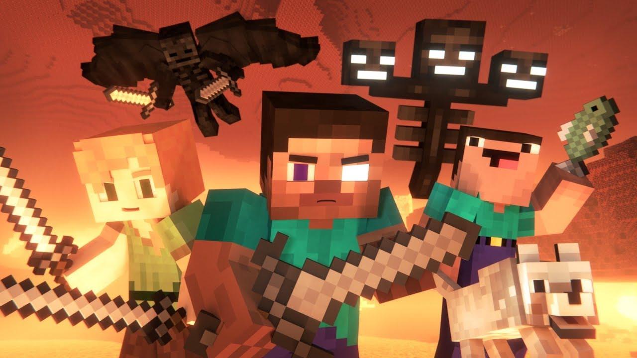 Animation Life 3 (Minecraft Animation)