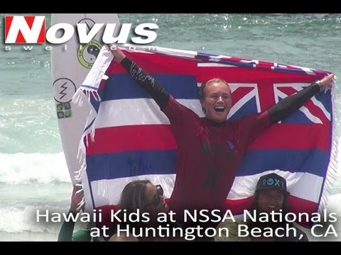 Hawaii Kids at NSSA Nationals at Huntington Beach, California