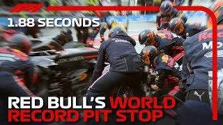 Red Bull's World Record 1.88s Pit Stop | 2019 German Grand Prix
