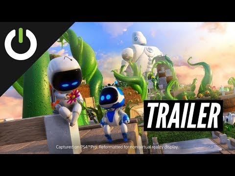 ASTRO BOT: Rescue Mission – Launch Trailer (PSVR)
