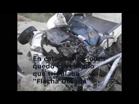 MUERE EN ACCIDENTE FLECHA DORADA