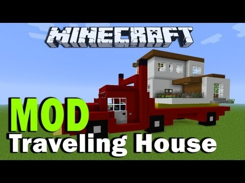 ▶ Minecraft Traveling House