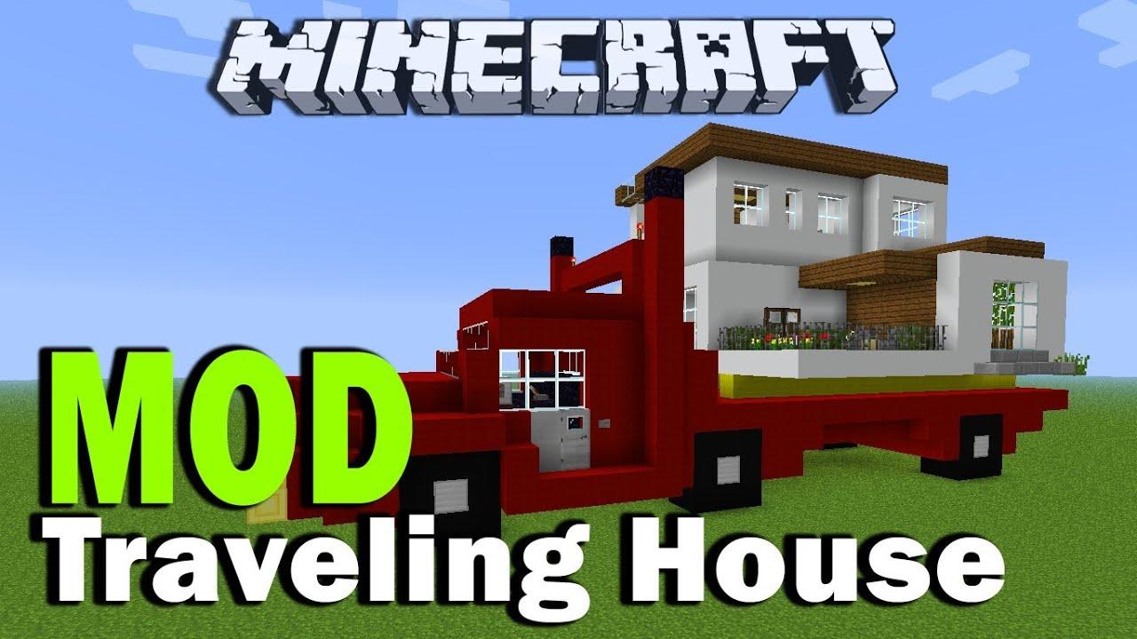 Minecraft Traveling House Mod