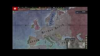 World War 2 Timelapse: A Hearts of Iron 3 Simulation
