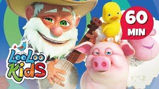 Old MacDonald Had a Farm - The Best Songs | LooLoo Kids
