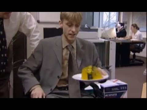 The Office: Gareth is the victim of a practical joke