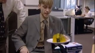 Gareths Stapler - The Office - BBC
