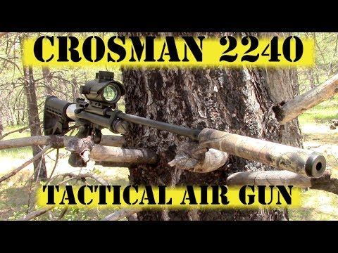 Crosman 2240 Tactical Pellet Gun