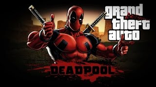 ДЭДПУЛ в ГТА / GTA SAN ANDREAS: DEADPOOL