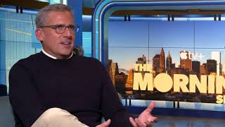 STEVE CARELL interview for MORNING SHOW