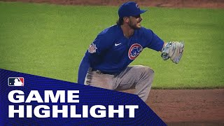 Cubs' 3rd baseman Kris Bryant rips off a TRIPLE PLAY on a diving catch!
