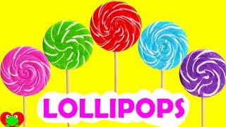 Best Learn Colors Video With Lollipop Gumball Surprises Shopkins Season 8