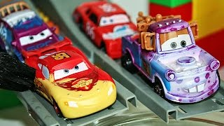 Машинки Меняют Цвет - Water Toys 5 Color Changers Cars 2 Raoul Caroule Mcqueen Colour Water Toys