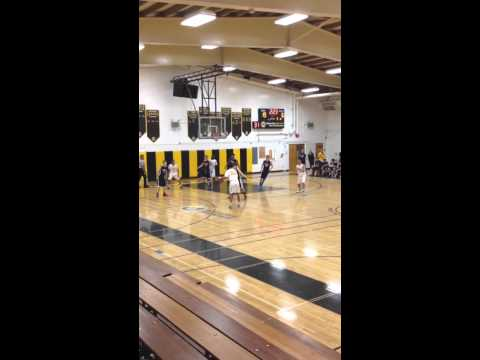 Mission Bay High School basketball victory