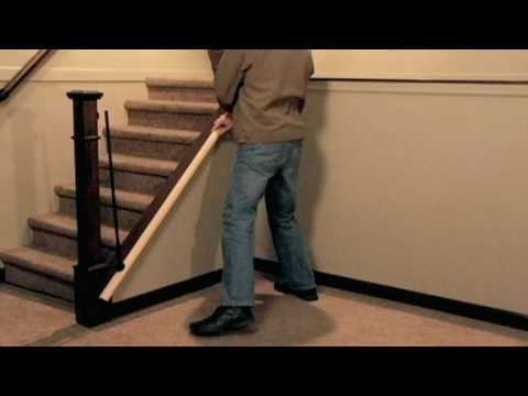 how to install a stair simple axxys stair kit youtube. Black Bedroom Furniture Sets. Home Design Ideas