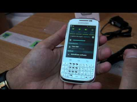 Samsung Galaxy Chat B5330 review HD ( in ROmana ) - www.TelefonulTau.eu -