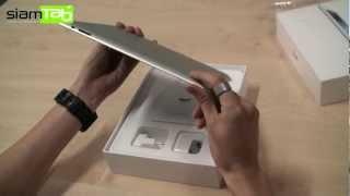 แกะกล่อง The New iPad (iPad 3)