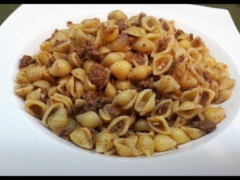 Очень Вкусные Макароны по‑флотски с сочным фаршем / Рецепт макароны