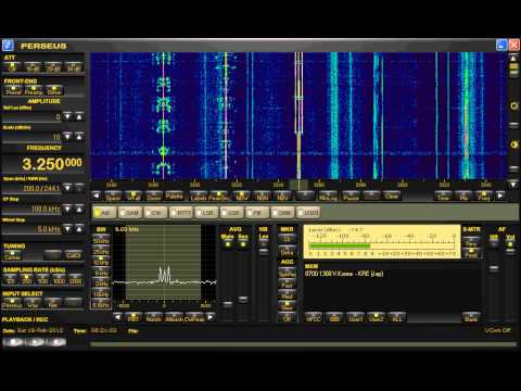 HAARP tones on 3250khz (2-18-2012)