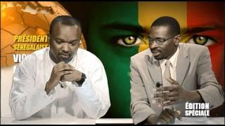 Emission Spéciale Présidentielle Sénégalaise