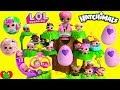 Hatching Hatchimals In Hatchery Nursery With LOL Surprise Dolls Lil Sister mp3