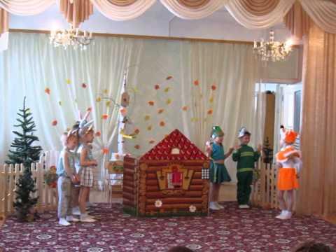 Детский сад №301 г.Уфы Сказка Теремок на новый лад