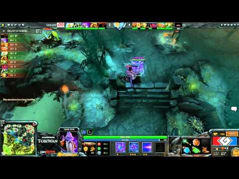 G League Semi Final - LGDint vs TongFu - Game 3