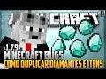 Minecraft Bugs #11 - Como Multiplicar Diamantes E Itens [1.7.9]