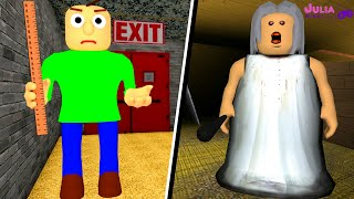 Roblox - BALDI OU GRANNY? (Would You Rather 2)