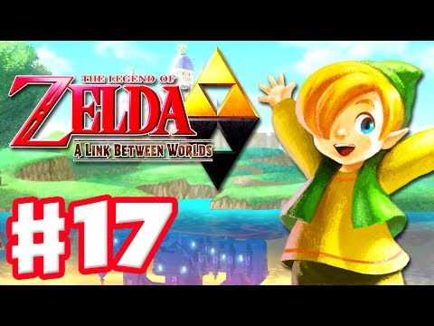 The Legend of Zelda: A Link Between Worlds - Gameplay Walkthrough Part 17 - Dark Palace (3DS)