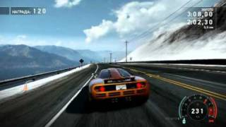Need for Speed: Hot Pursuit Gameplay 2010 (The Ultimate Road Car)