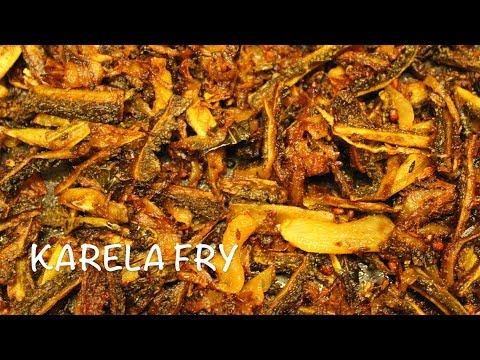 Bitter Gourd Fry Recipe | Kakarakaya Fry | Crispy Karela Fry Recipe
