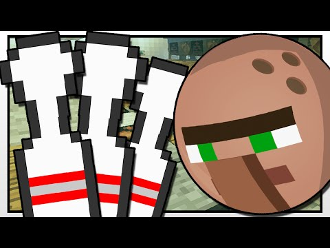 Minecraft | GRAVITY GUN BOWLING ALLEY!! | Custom Mod Adventure