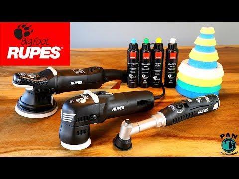 Rupes BigFoot Polishers: LHR15 MK II, LHR75E Mini, and Nano iBrid (REVIEW) !!!