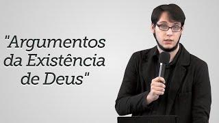 """""""Argumentos da Existência de Deus"""" Geimar Lima"""
