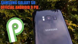 Samsung Galaxy S8 - OFFICIAL ANDROID 9 PIE - OneUI - Quick Look