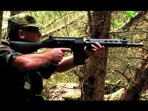 Airsoft Action FN FAL. G36C P90 M14 M4 Section8 Scotland