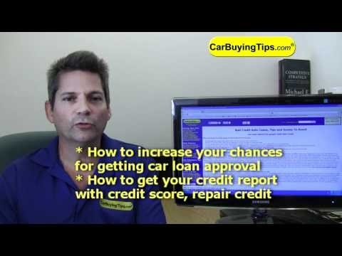 Bad Credit Auto Loans, Tips and Scams To Avoid from CarBuyingTips.com