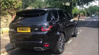 2019 Range Rover Sport SVR spec in and out review